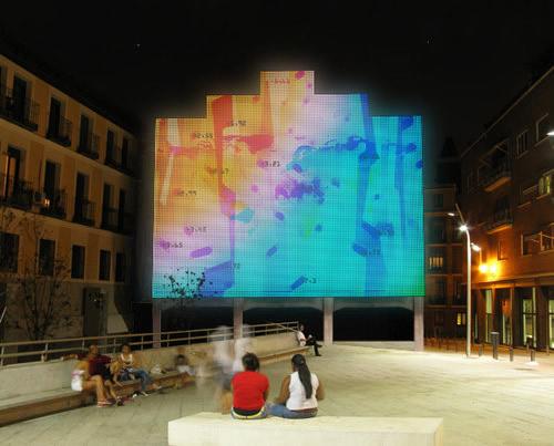 Facade of Medialab-Prado