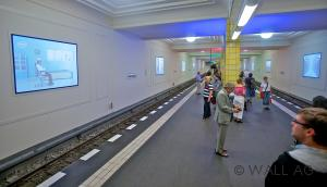 Full Digital Metrostation Friedrichstrasse – Wall AG