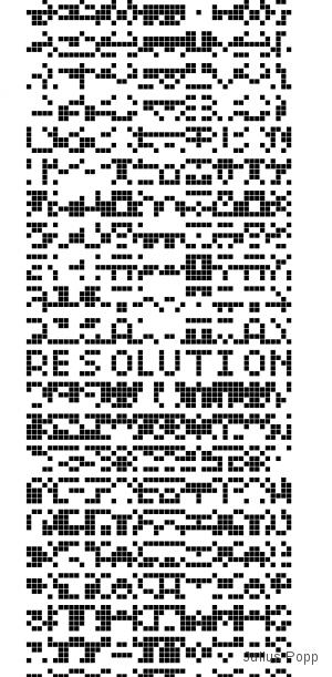 Bit.Code by Julius Popp