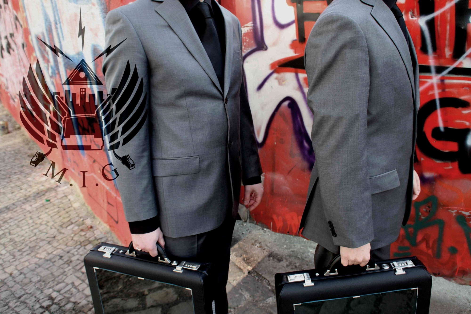 Men in Grey by The Men In Grey Organisation